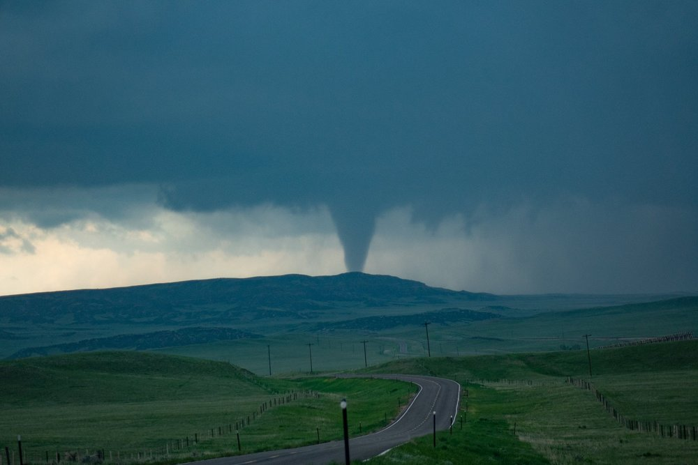 Tornado in Wyoming on May 27th, to the NW of Cheyenne. Pic is my copyright.
