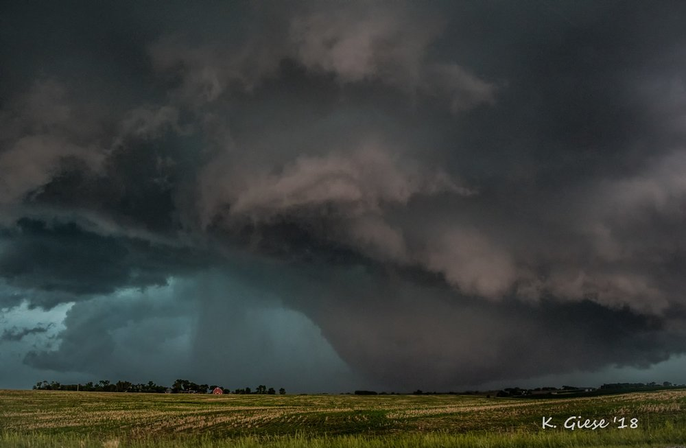 Ground-scraping wall cloud on this storm by Manley, Nebraska on 6/11/18. Flickr: https://www.flickr.com/photos/50663588@N02/42696037302/in/dateposted-public/