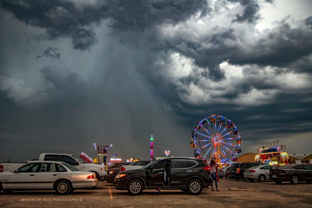 County fairs and and storms....in the Oklahoma panhandle this weekend....