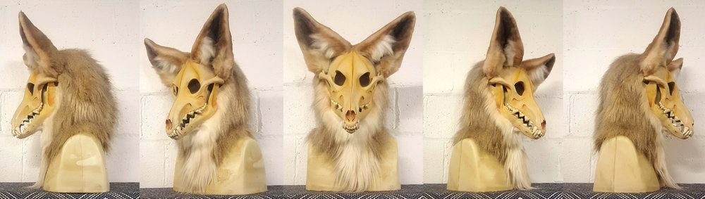 """CLEMENTINE"" Coyote Skull Monster"