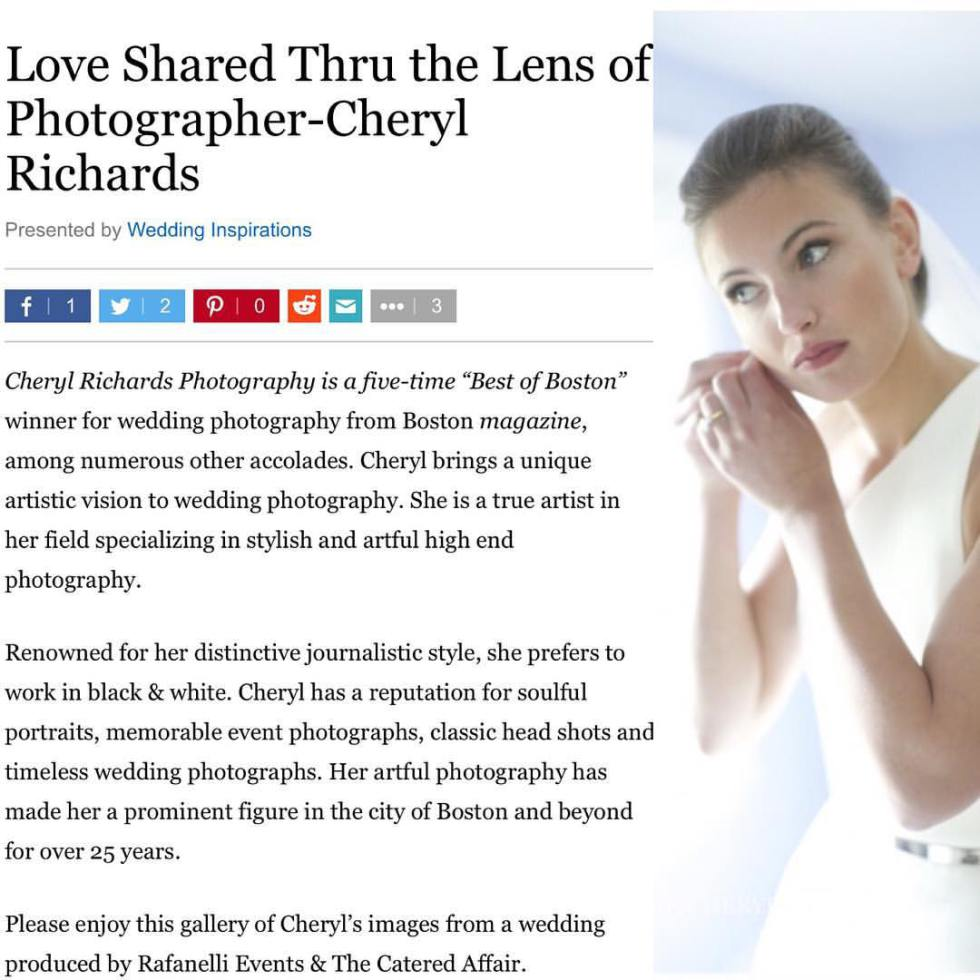 Love Shared Thru the Lens of Cheryl Richards