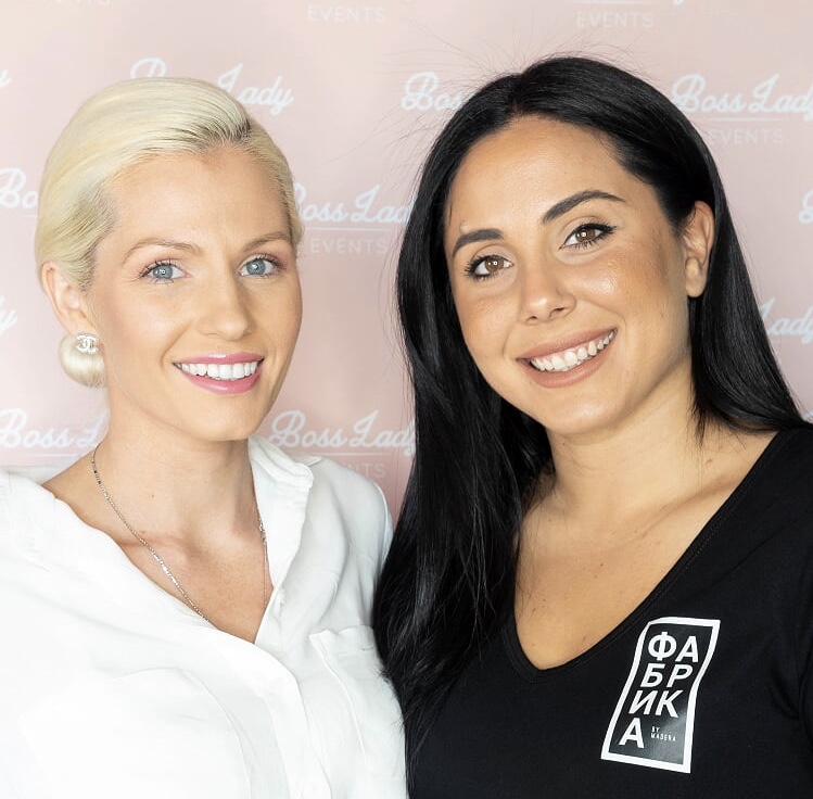 Jada Perfect (BLE Founder) and Zorana Zecevic (Restaurant Manager)