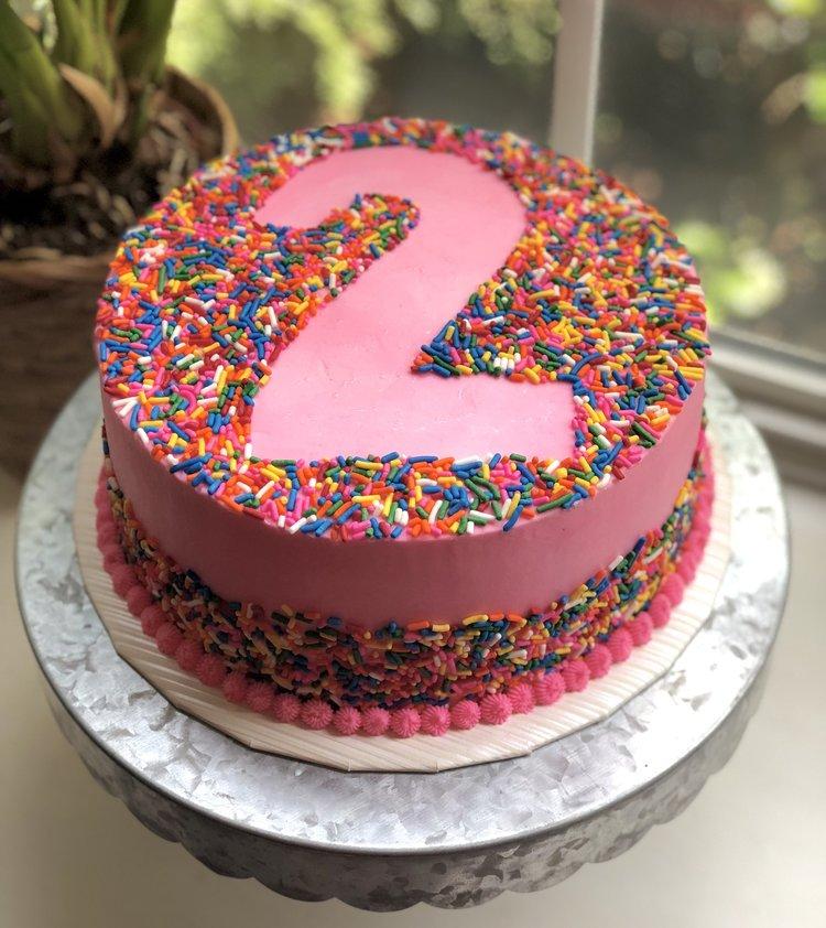 Birthday Cakes The Virginia Baker