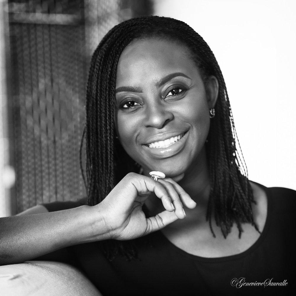 Rachel-Diane Cusiac-Barr, créatrice de la marque  Niango . Crédit photo: Geneviève Sauvalle