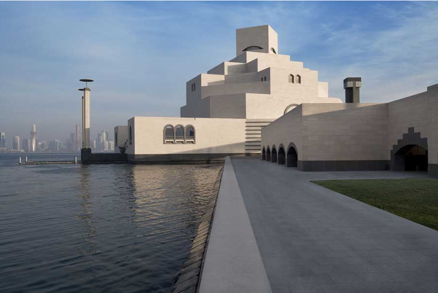 The Museum of Islamic Art designed by IM Pei