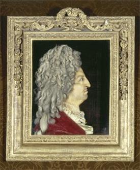 Louis XIV painting at Versailles