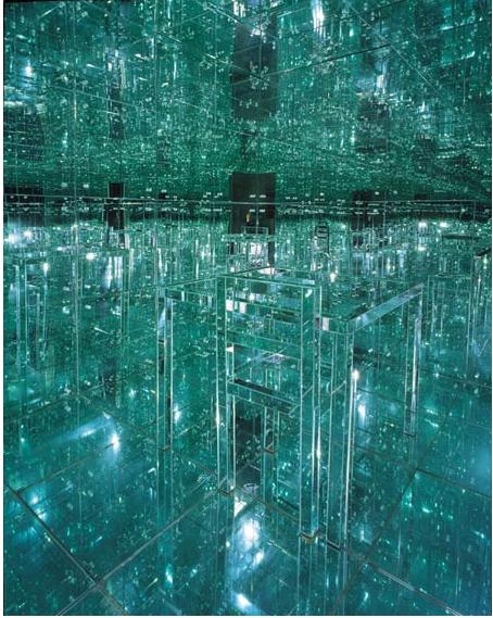 Lucas Samaras mirror room no. 2
