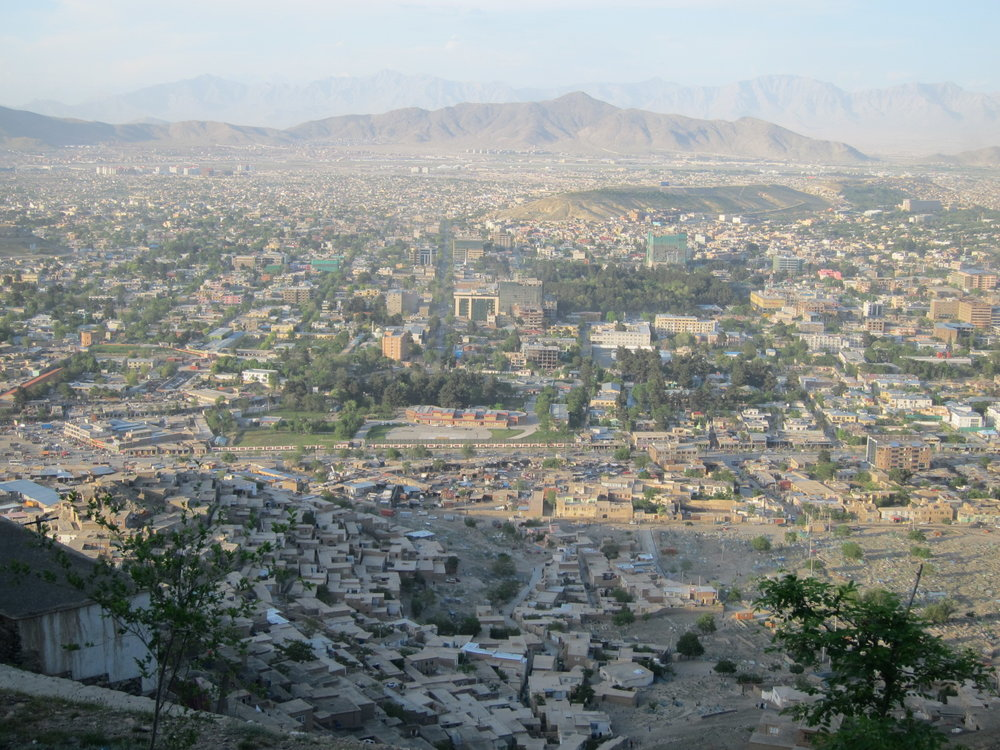 A photograph of Kabul I took during my trip.