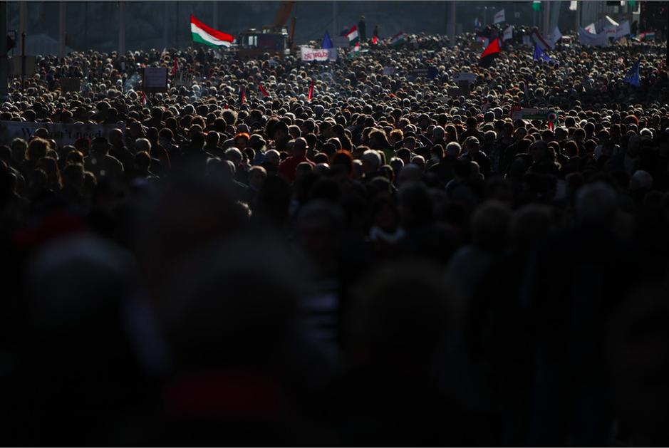 Revolution Day, Photo courtesy of  Index.hu