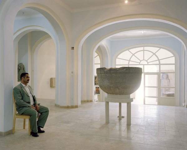 Leon Chew, Inside the Kabul Museum, 2011