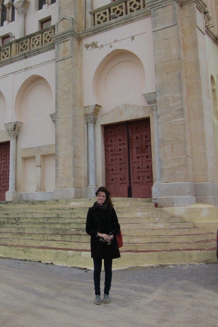In front of the Carthage National Museum