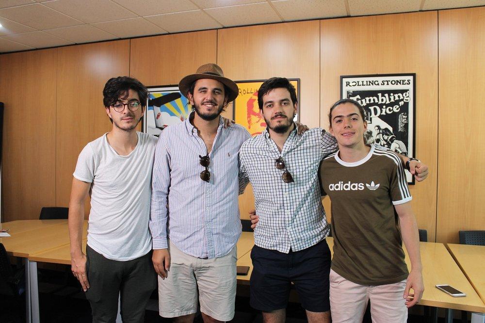 """Con poco más de 22 años, los jóvenes colombianos cuentan con con 5 discos de platinos por su tema """"Cómo te atreves"""", una nominación al Grammy Latino y otra a los MTV MIAW."""