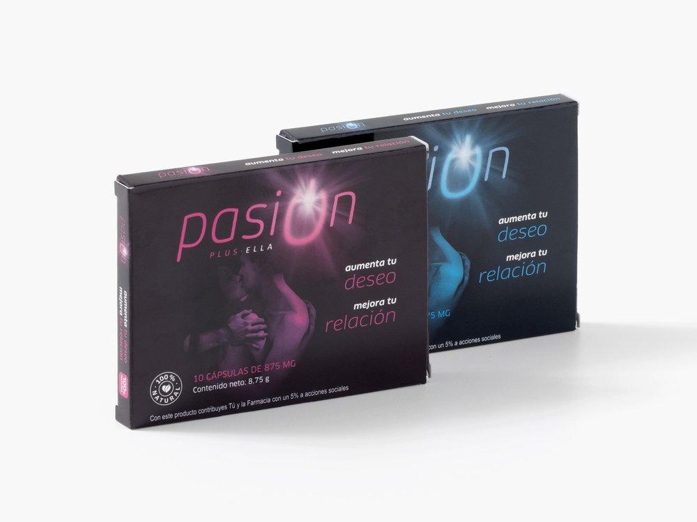 Dos de los productos naturales que comercializa Zomec para aumentar el deseo sexual.