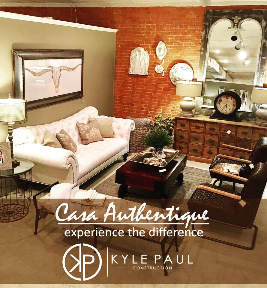 Casa authentique - We are thrilled to say that one of our favorite locally owned boutiques, Casa Authentique, will stage our South Fork Ranch parade home! We cannot wait to show you what they have planned!
