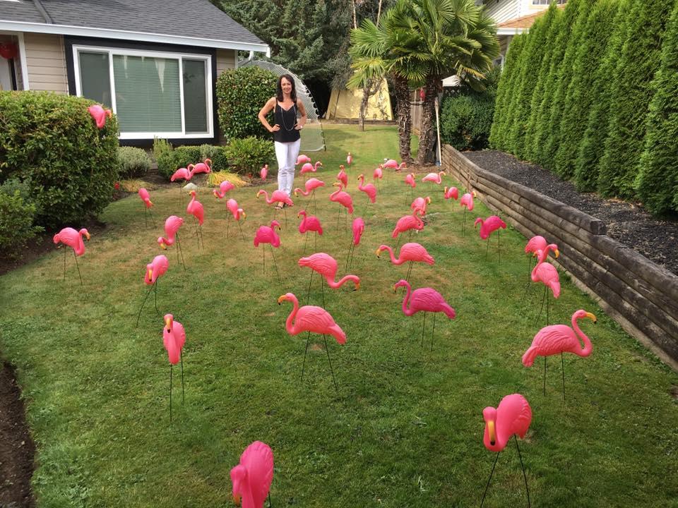 Happy Flamingo Birthday to me!