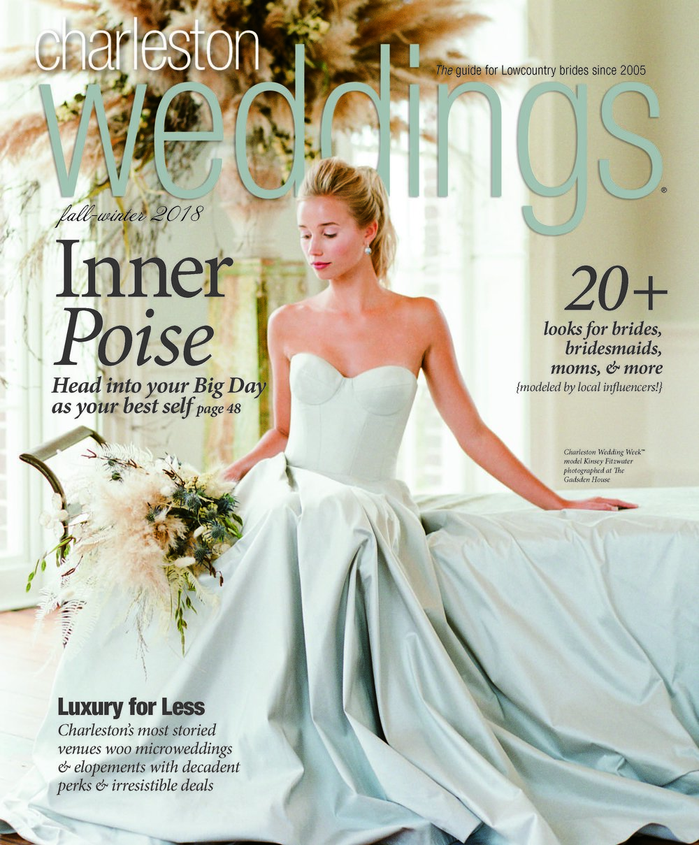 Charleston Weddings magazine - fall/winter 2018 issue