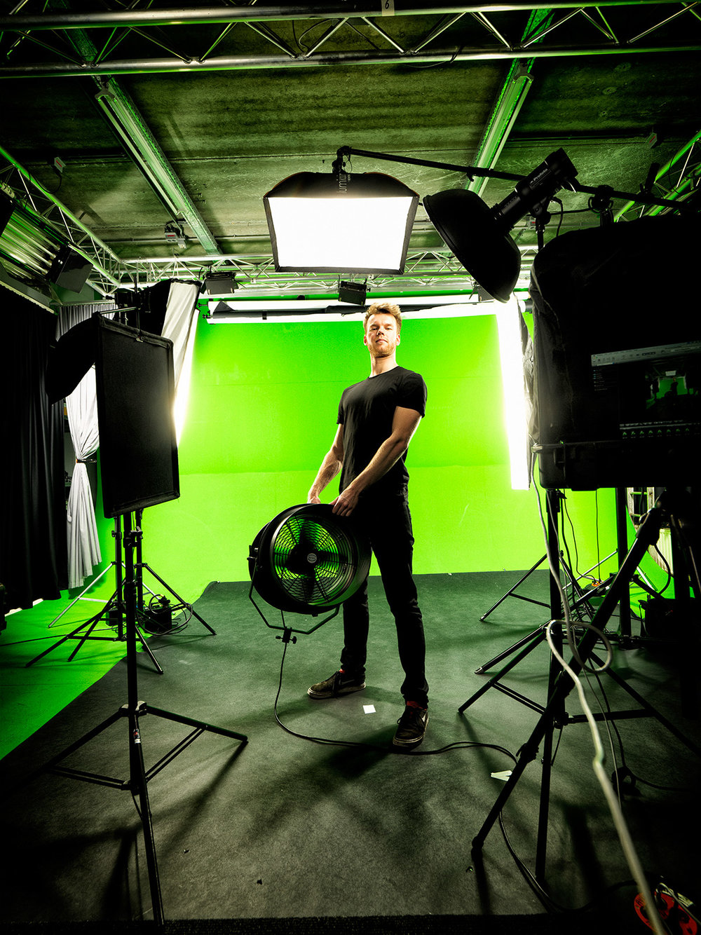 Copy of Nathan Marcusse Chromakey Dude!