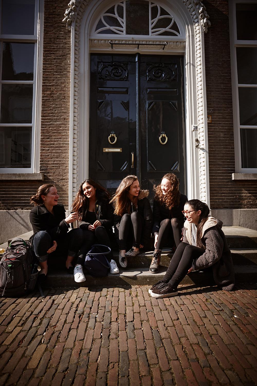 UCR Studenten in Middelburg