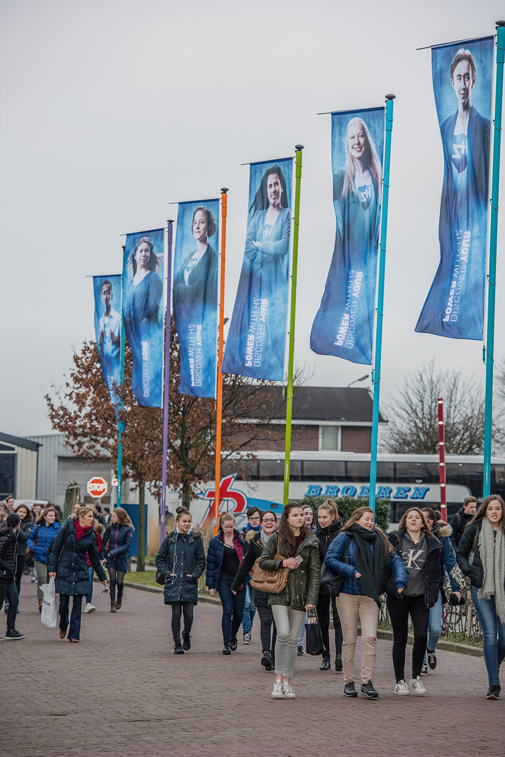 Copy of Uitingen van 'Discover your power with HZ' campagne