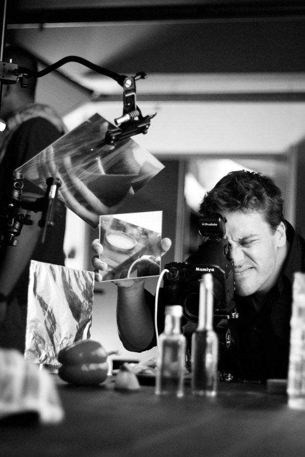 Food fotograaf in actie!