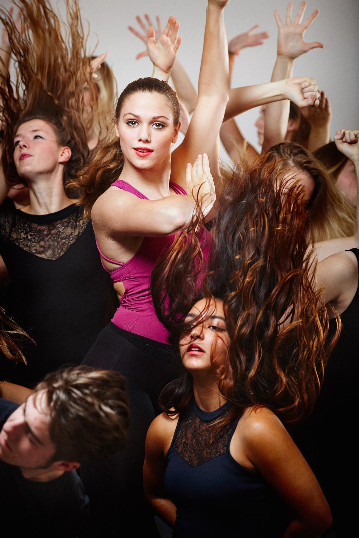 Campagne fotografie voor college MBO Dans - Scalda