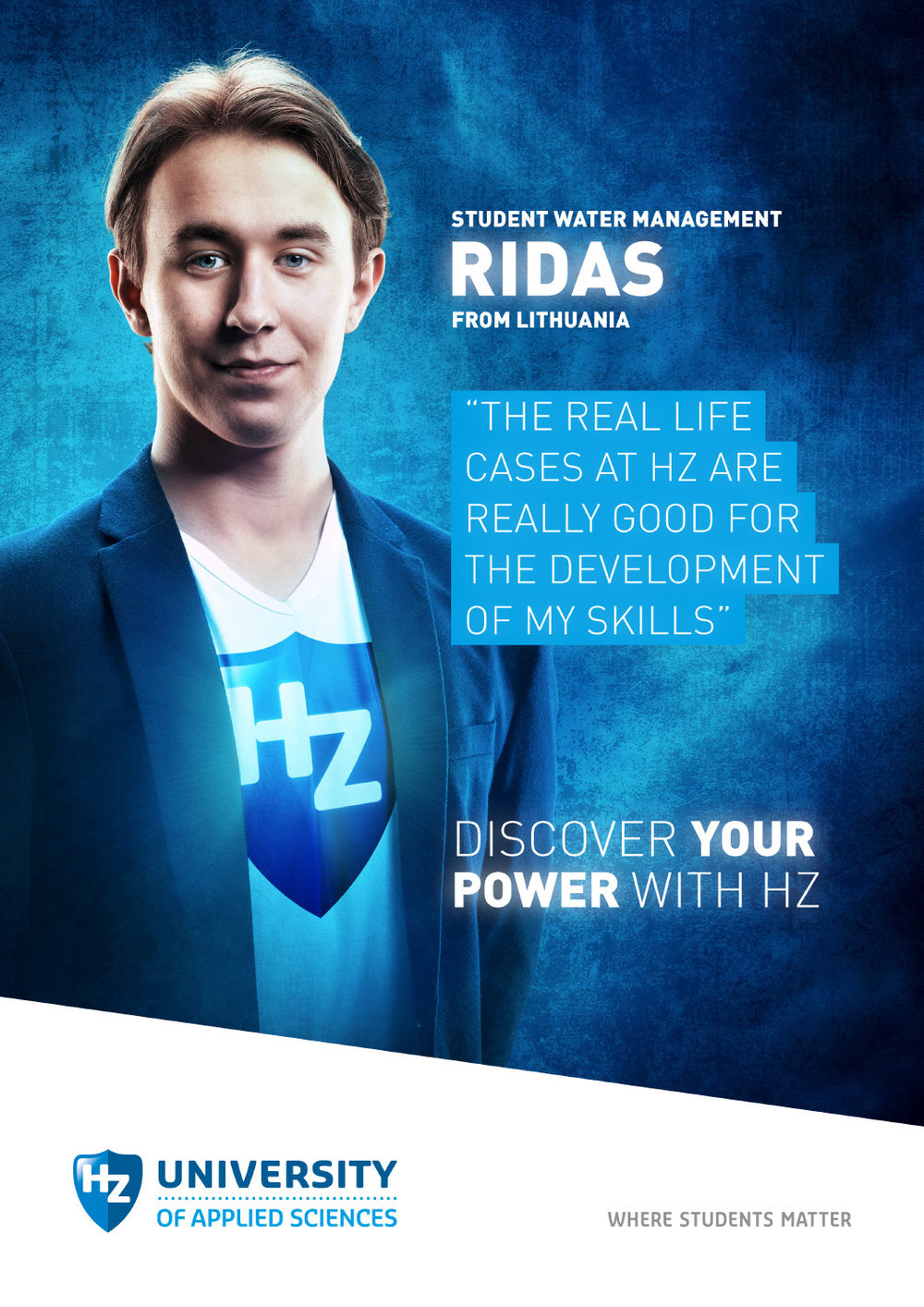 Copy of Reclame campagne fotografie voor HZ University of Applied Sciences.