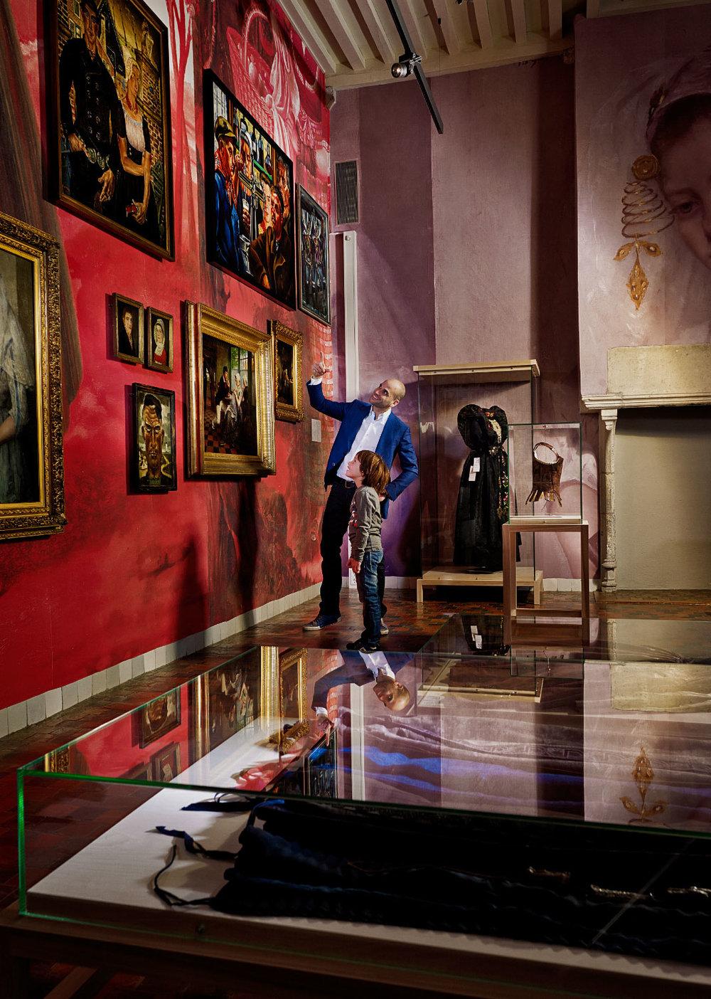 Cover  Middelburg Magazine  - Zeeuws Museum -  klant:  Gemeente Middelburg