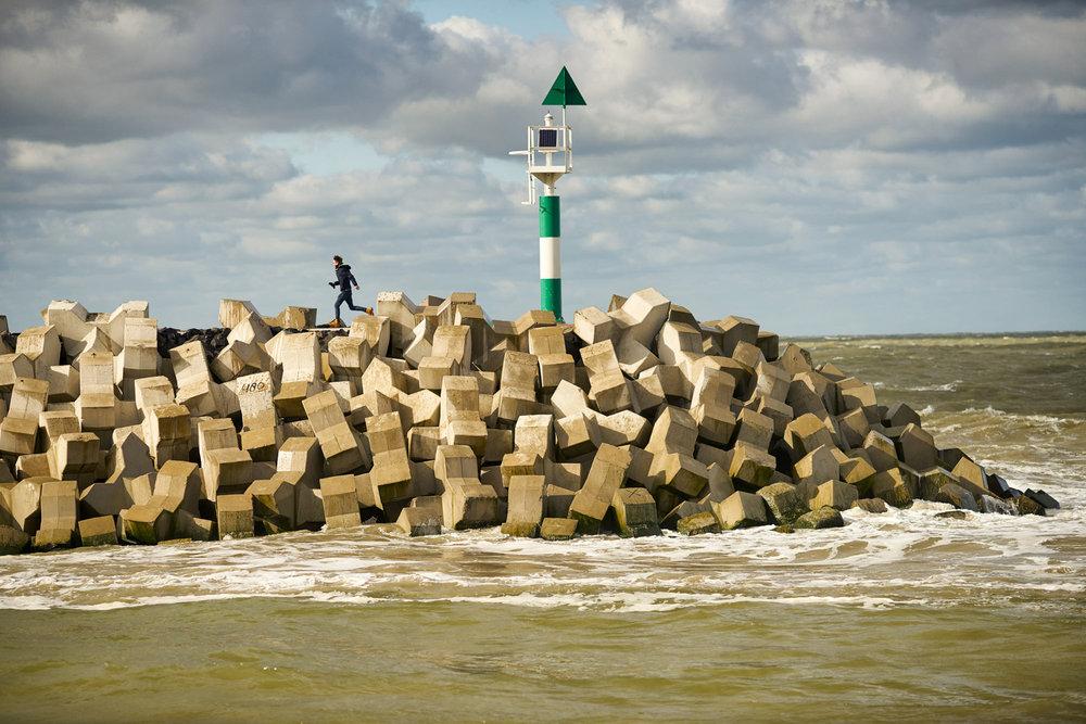 Kustversterking in Cadzand-Bad - Zwakke Schakel West-Zeeuws-Vlaanderen.  Klant:  Zuidwestelijke Delta.