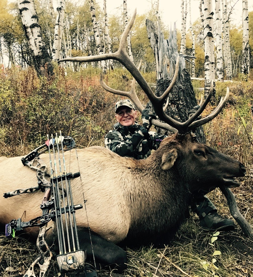 Michael B and his trophy archery Bull elk.jpg