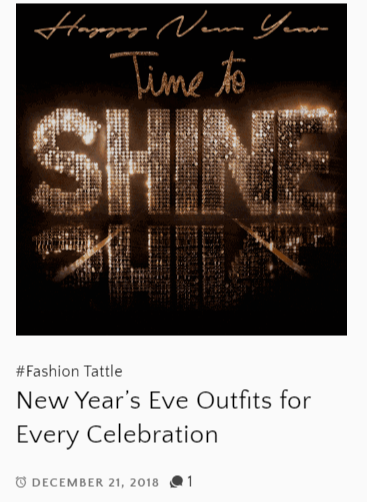 Copy of Ngozika Okeke Holiday Collection featured on HollyWood TattleTale Entertainment Site