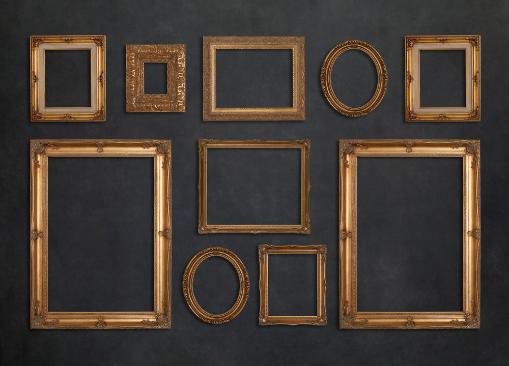 Custom Framing in Gold, White or Black