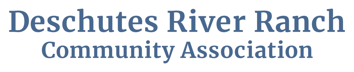 Deschutes River Ranch Community Association