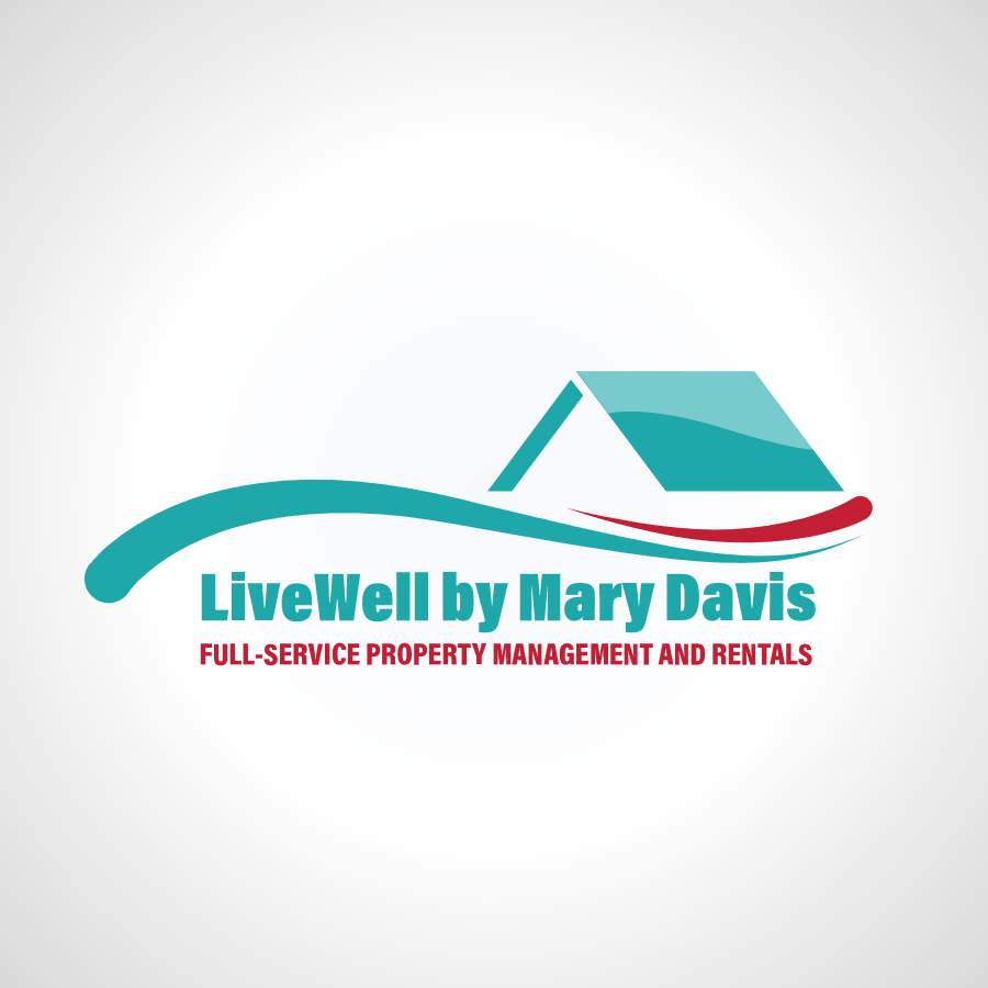 LiveWell by Mary David Logo Design