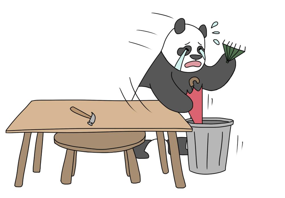 cry panda