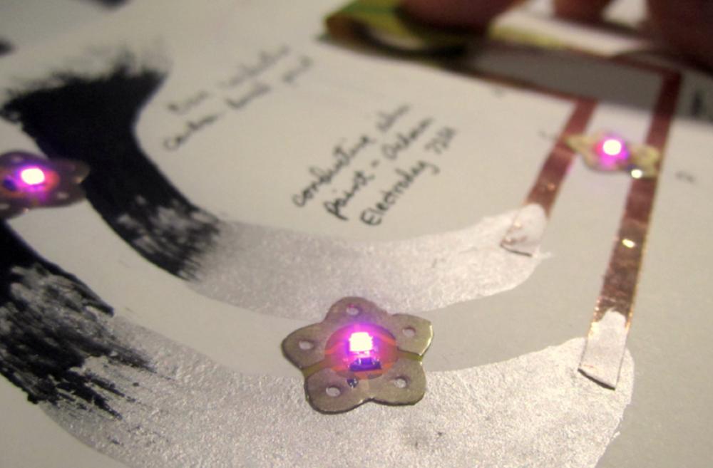 led sticker prototype