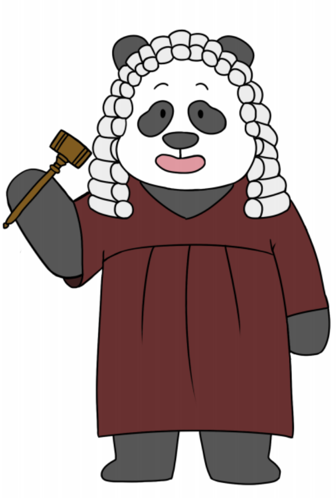 patent panda judge