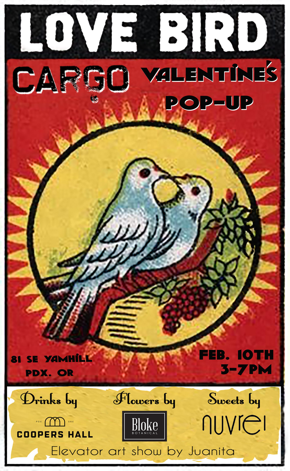 Valentines Pop-up - February 10th 2018