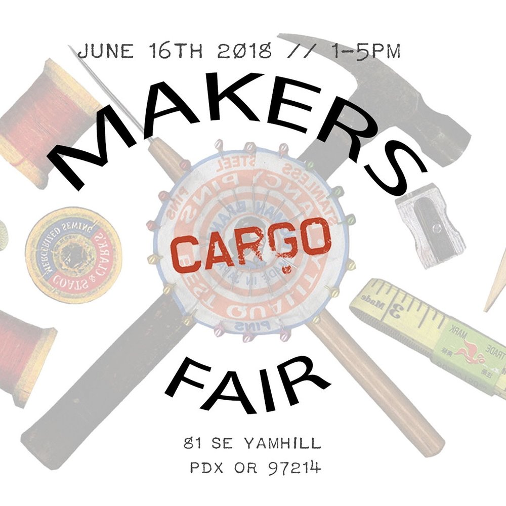 Cargo Makers Fair - June 16th 2018