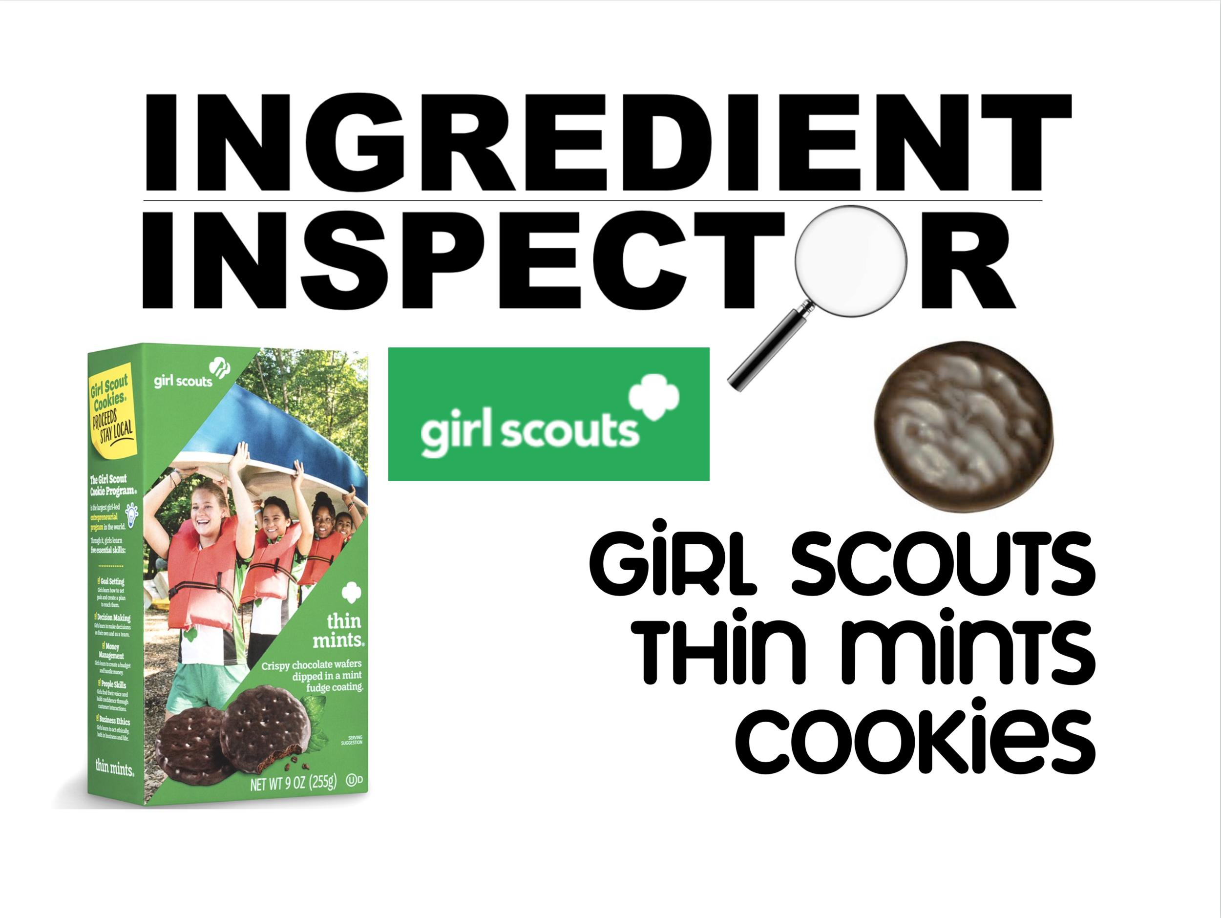Whats In Girl Scouts Thin Mints Cookies Ingredient Inspector