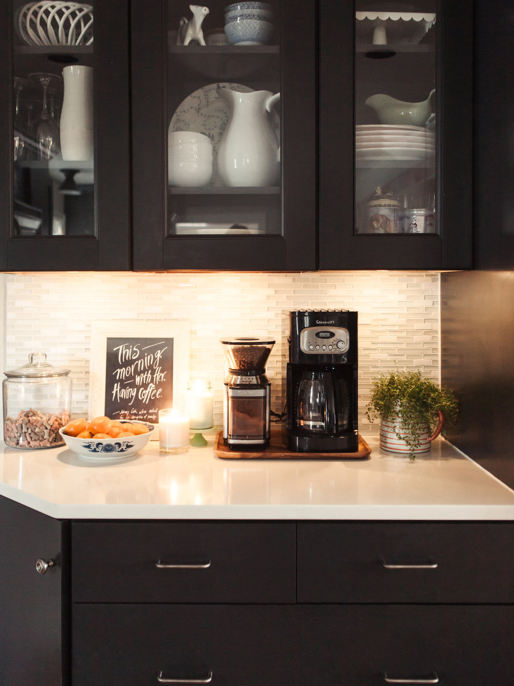 Diy under cabinet lighting with a warm glow hack haven nest diy under cabinet lighting with a warm glow hack aloadofball Image collections