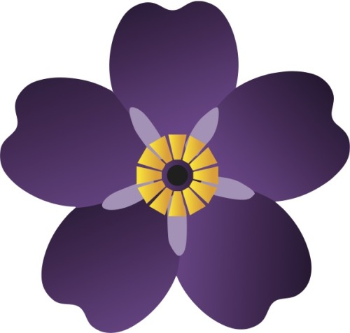 The forget-me-not is  the official emblem of the 100th year of Remembrance of the Armenian Genocide.