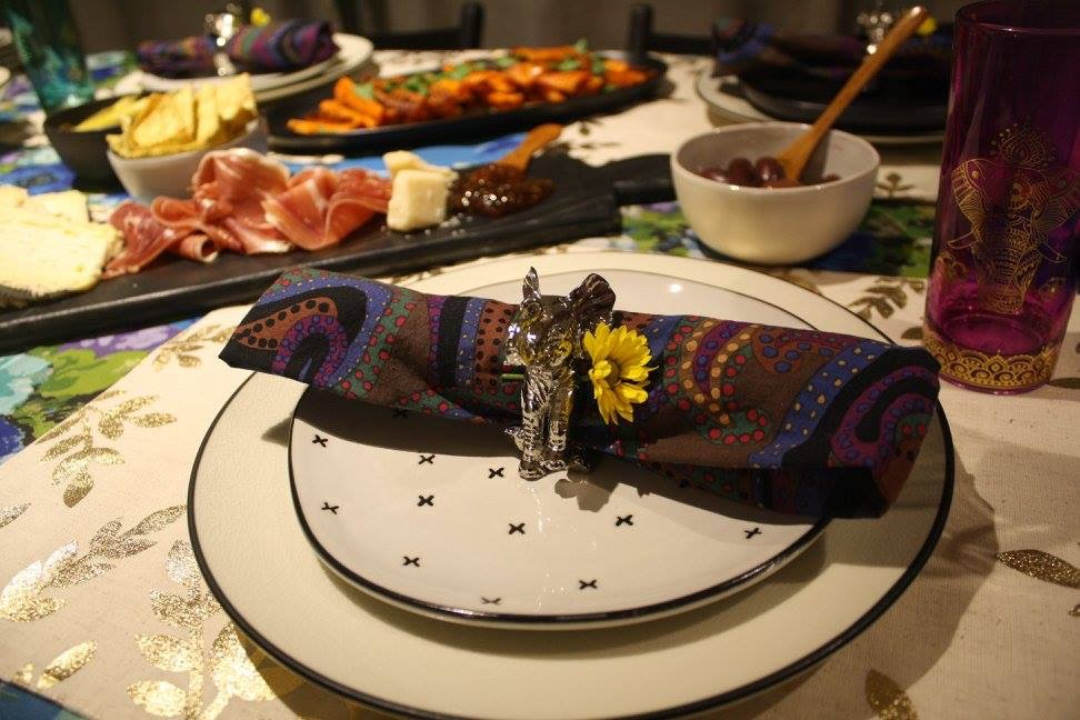 Fall housewarming dinner. photo credit: Crystal Rivera