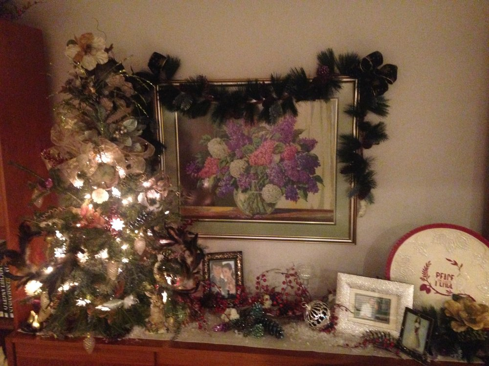 Figure 1a.  The mother's Christmas tree