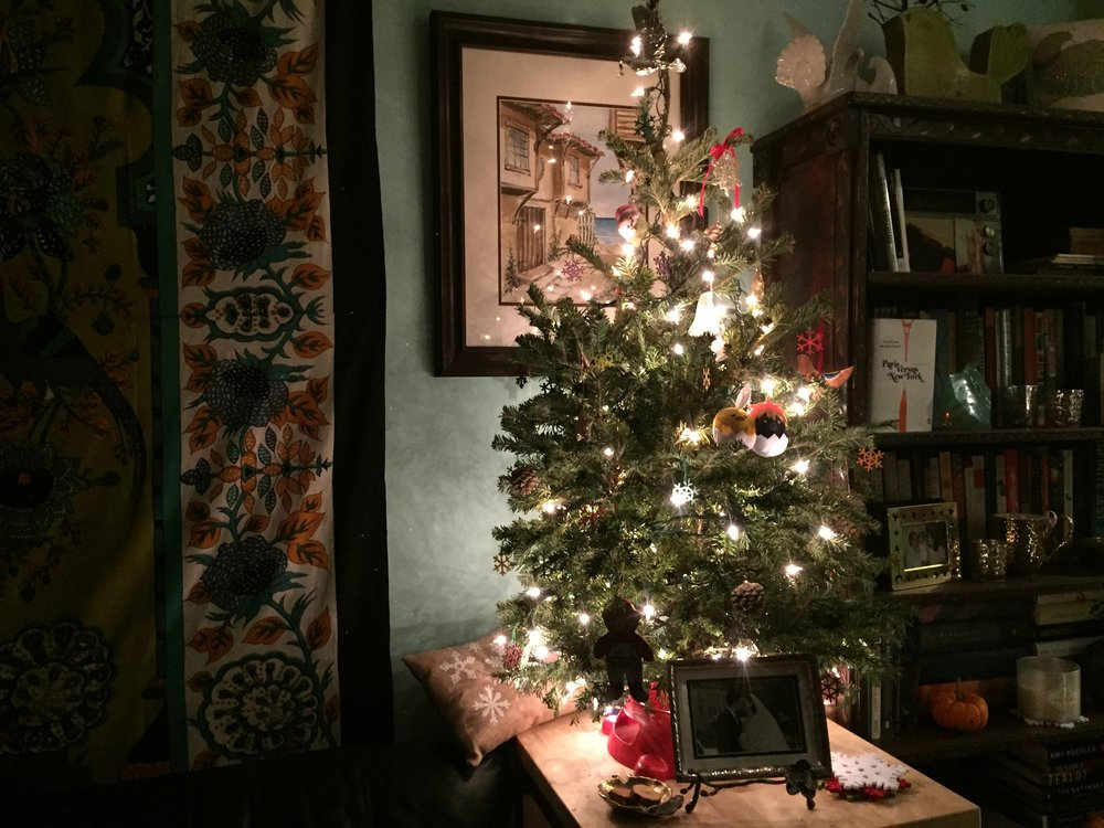 Figure 1b.  The daughter's Christmas tree.