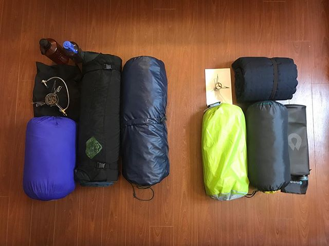 Before and after our 3 hour trip to MEC - we managed to shave about 45% off our base pack weight. Find out more in our latest blog post! Link in bio . . . . . @mec_toronto  @mec  #campinghacks  #brucetrail #hiking #walk #ontario #toronto  #getoutside #optoutside #neverstopexploring #exploreontario #adventure #niagaraescarpment #hikingontario #nature #endtoend #trailraisers #fundraiser