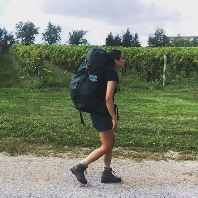 Day 3: Lincoln to Grimsby We didn't take too many photos today because we got caught in a MASSIVE thunderstorm ⛈  Slogged along with wet boots to finish off the Niagara Section today! Full details in blog . . . #brucetrail #hiking #walk #ontario #toronto  #getoutside #optoutside #neverstopexploring #exploreontario #adventure #niagaraescarpment #hikingontario #nature #endtoend #trailraisers #fundraiser