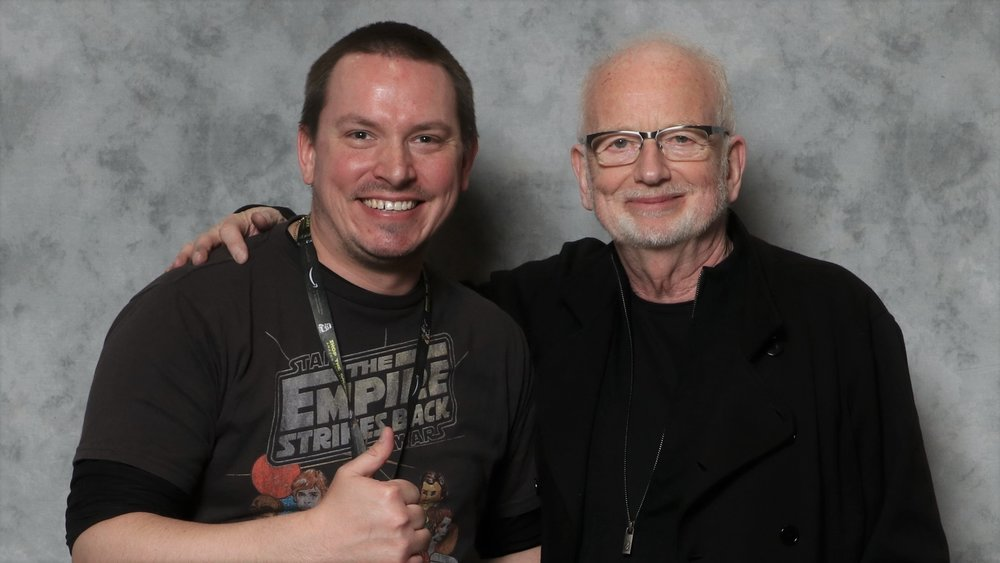 "Jackson and Ian McDiarmid at ""Star Wars Celebration"""