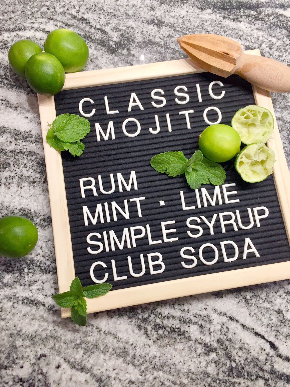 Classic Fresh Mojito The Spirited Sprout