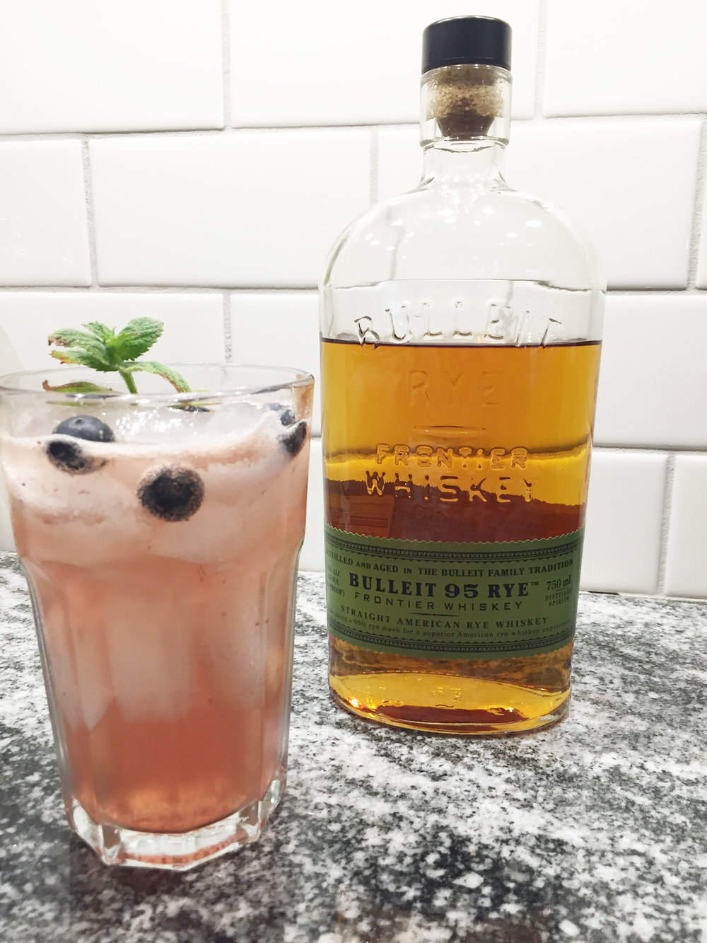 Spirited Sprout Blueberry Mint Julep