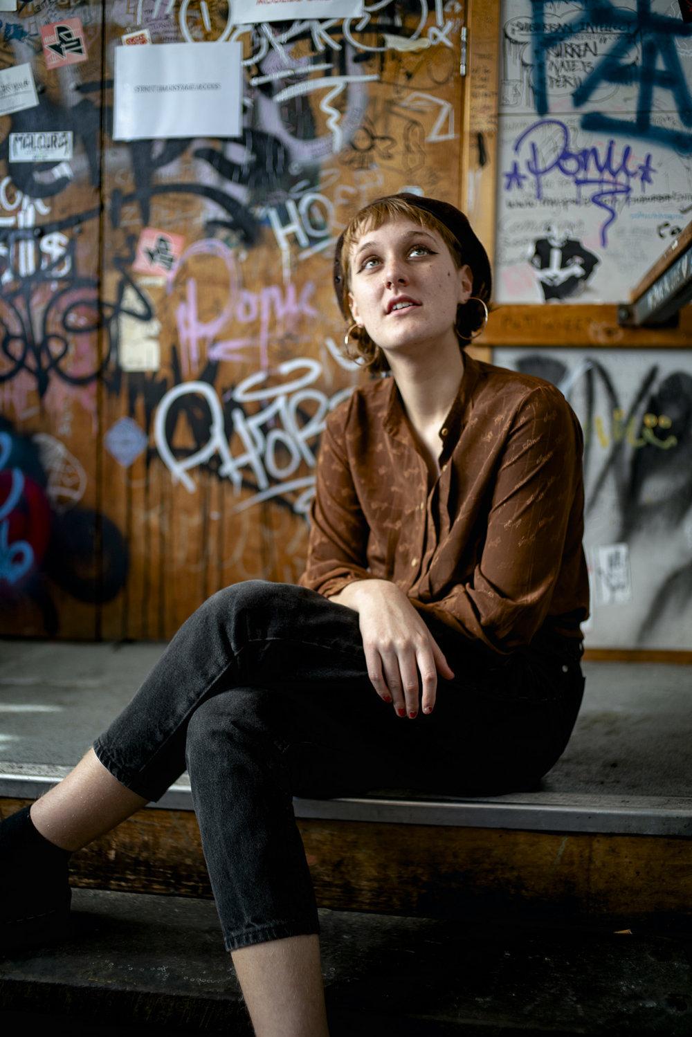 'Carla Geneve' Portrait by Hugo Sharp, 2018